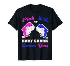 Baby Shark Loves You-Gender Reveal Shirts