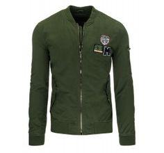 Pánská mikina - Lessy, zelená | TAXIDO fashion