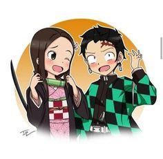 Takagi as Nezuko And Nishikata as Tanjiro, a Perfect crossover 😎 How To Draw Sans, Anime Character Drawing, Phone Themes, Otaku, Another Anime, Best Waifu, Anime Ships, Cute Art, Anime Characters