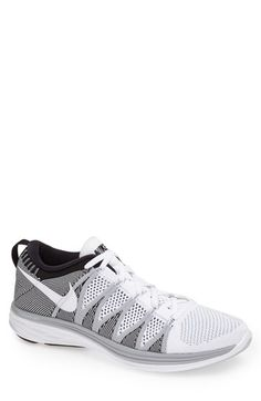 Nike 'Flyknit Lunar2' Running Shoe (Men) available at #Nordstrom