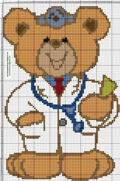 Ponto Cruz da Rê Cross Stitch For Kids, Cross Stitch Baby, Cross Stitch Patterns, Plastic Canvas Tissue Boxes, Kids Patterns, Tissue Box Covers, Christmas Cross, Square Quilt, Cross Stitching