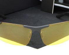 Štýlové polarizované okuliare na nočnú jazdu. Sunglasses, Fashion, Moda, Fashion Styles, Sunnies, Shades, Fashion Illustrations, Eyeglasses, Glasses