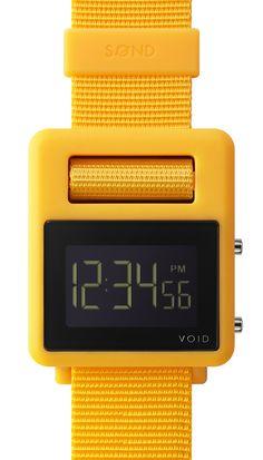 Void Watches | Sond-Yellow - Sond