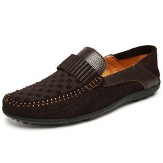 Driving Loafers Camper Moccasin Slip on Dress Casual Breathable for Men