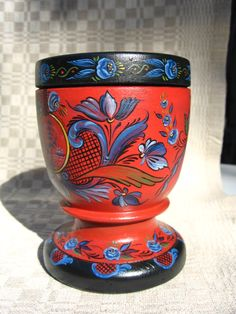 Numedal Rosemaling 2014 by Rick James Marzullo