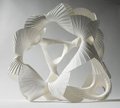 Aufwendige Papier-Skulpturen von Richard Sweeney