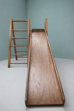 wooden toddler slides - Google Search | toddler slide ideas ...