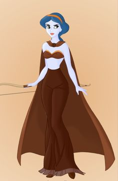 Star Wars Disney Princesses! Aayla Secura.