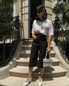 How to Wear a T-Shirt Every Day This Summer