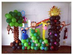 Baby shower balloon decor Baby shower balloon decor #baby shower #balloon #sculpture #decor #art #twist #centerpiece