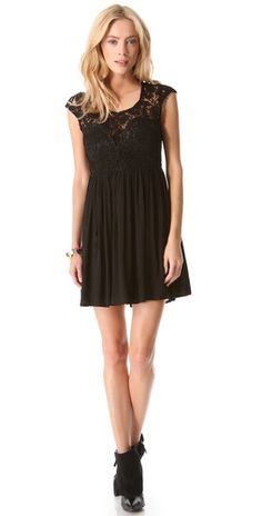 ONE by Lovecat Lace Party Dress | SHOPBOP