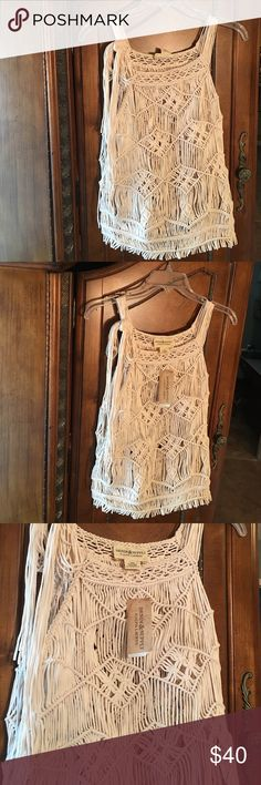Ralph Lauren Brand New Gorgeous off white with great detailing top! Tags are attached! Offers are always welcomed in my closet.  Please no low ball offers. Denim & Supply Ralph Lauren Tops Blouses