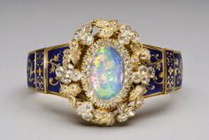 Fashion and Costume History     – tiarascrowns:  Victorian Opal Bracelet  A...