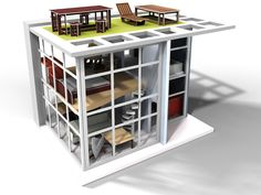 Dylan Dollhouse #modern #giftguide #toys