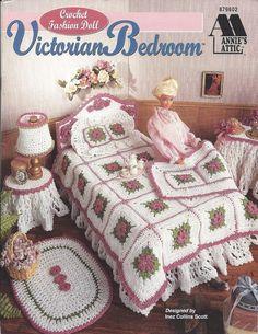 Crochet Pattern Fashion Doll Victorian by KnitKnacksCreations