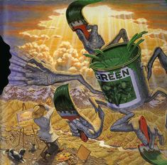 Robert Williams - The Fear of Green - Date NA - http://www.robtwilliamsstudio.com/Gallery-Robert-Williams.html