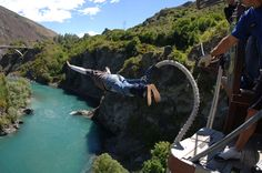 Bungee Jump off a bridge