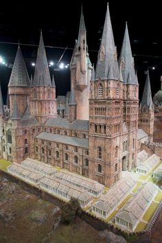 """The Making of Harry Potter"" studio tour! This is an incredible mode of Hogwarts Castle."