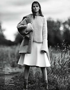 Giedre Dukauskaite for Amica August 2013 by Emma Tempest   The Fashionography