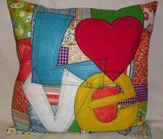 Grafitti Love Pillow Cover