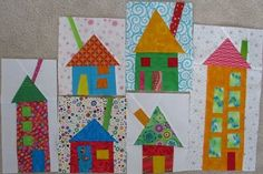 Tonya's Wonky houses (Janet and I are pinteresting together:-)