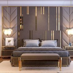 bedroom interior design Comfortable Modern Small Bedroom Design and Decor Ideas Modern Luxury Bedroom, Master Bedroom Interior, Luxury Bedroom Design, Master Bedroom Design, Luxury Home Decor, Contemporary Bedroom, Luxurious Bedrooms, Home Bedroom, Bedroom Decor