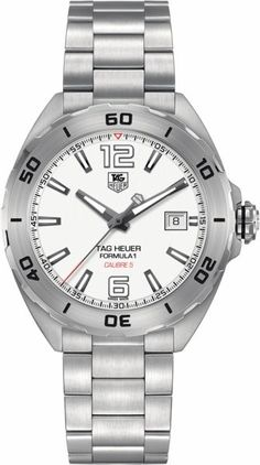 TAG Heuer Men's Analog Display Automatic Self Wind Silver Watch Tag Heuer Glasses, Tag Heuer Calibre 5, Automatic Skeleton Watch, Automatic Watch, Seamaster Aqua Terra, Tag Heuer Formula, Skeleton Watches, Expensive Watches, Luxury Watches For Men