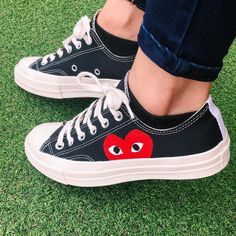 CDG Play x Converse Chuck Taylor All Star Low 70s