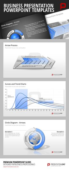 Business PowerPoint Templates All of the Curves, Trend Charts and Diagrams of the Business Starter PowerPoint Templates are ready-to-use and can be easily adapted to your specific needs if you wish so.    #presentationload  http://www.presentationload.com/business-starter-package.html
