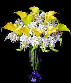 Beautiful Calla lily arrangement
