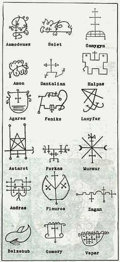 458 Best Occult Symbols And Sigils Images On Pinterest In 2018