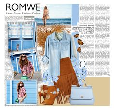 """""""Romwe contest"""" by tihana1 ❤ liked on Polyvore featuring C Label, Dolce&Gabbana and Lane Crawford"""