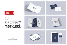 30 Free Stationery Mockups – Free Design Resources Business Cards And Flyers, Luxury Font, Commercial Use Fonts, Kit, Free Design, Mockup, Colorful Backgrounds, Branding, Brand Identity