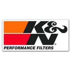 K&N Peformance Filters Logo Sticker, Sticker Design, Vw R32 Mk4, Motocross Logo, Hot Rod Tattoo, Jdm Stickers, Motogp, Racing Car Design, Logo Samples