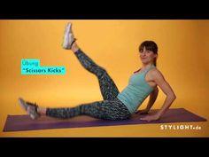 Sporty Stylight - Tutorial: Die besten Übungen für Bauchmuskeln und sexy abs.