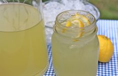 "Just the word ""lemonade"" brings back  childhood memories of  lazy, country summer days: DELICIOUS! The BEST lemonade I've ever had! I will certainly be making this again!!"