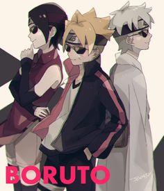 Team Konohamaru #Naruto Yamanaka Inojin, Shikadai, Uzumaki Boruto, Itachi Uchiha, Naruhina, Team Konohamaru, Naruto New Generation, Naruto Gaiden, Naruto The Movie