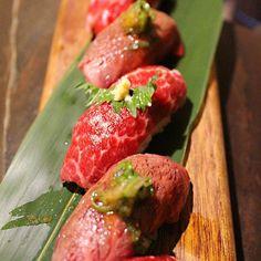 #jabistro SP @jabistro222: today's special sushi 'wagyu beef' u.s. #best #japanese #sushi #aburi #foodporn #foodie #sashimi #toronto #canada #foodporn #foodie by jabistro222