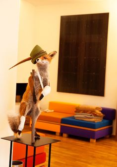 fantastic mr fox, via the selby, stephan landwehr at home in berlin  2_16_11_StephanLandwehr12185