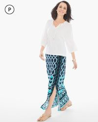 Petite Hayden High-Slit Maxi Skirt>
