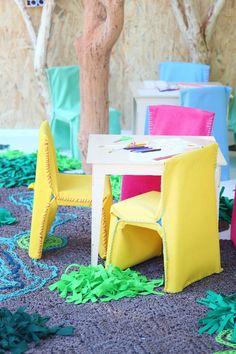 WDC The Power of Colour & Texture - Cécile & Boyd Foundation Plascon Paint, Plascon Colours, Power Colors, Toy Boxes, Amazing Architecture, Design Awards, Color Inspiration, Pop Up, Dining Chairs