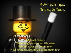 40+ tech tips, tricks and tools