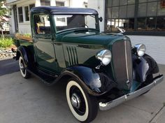 1934 Chevrolet Master Deluxe High Cab Pickup