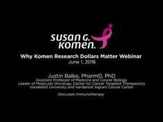 Why Komen Research D