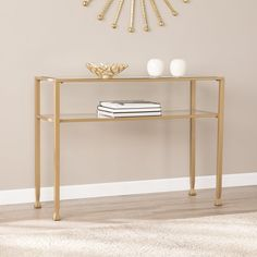 Gardening Ideas, Tips & Techniques Home Design Living Room, Living Room Modern, White Console Table, Gold Table, Lucite Coffee Tables, Furniture Makeover, Living Room Furniture, Sofa Furniture, Decoration