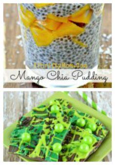 Mango Chia pudding a