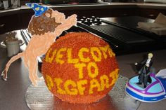 Draco Malfoy Cakes: Welcome to Pigfarts, Team StarKid