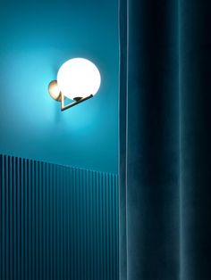 oil blue and a wall light statement... Laudani & Romanelli, Marcello Mariana, Andrea Martiradonna · XXI Triennale di Milano. he Absence of Presence
