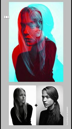 Creative Portrait Photography, Photography Poses For Men, Conceptual Photography, Photoshop Photography, Art Photography, Kreative Portraits, New Retro Wave, Double Exposure Photography, Plakat Design