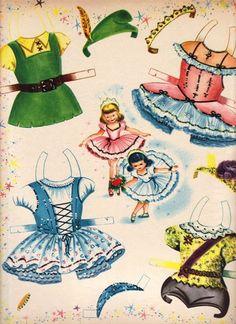 Little Ballerina Paper Dolls - Sharon Souter - Álbuns da web do Picasa